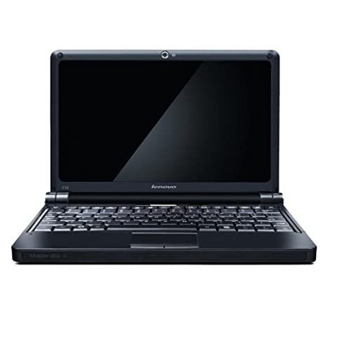 Lenovo IdeaPad S10 25,7 cm (10,1 Zoll) Netbook (Intel Atom N270 1.6GHz, 1GB RAM, 160GB HDD, Intel GMA950, XP Home, UMTS) schwarz