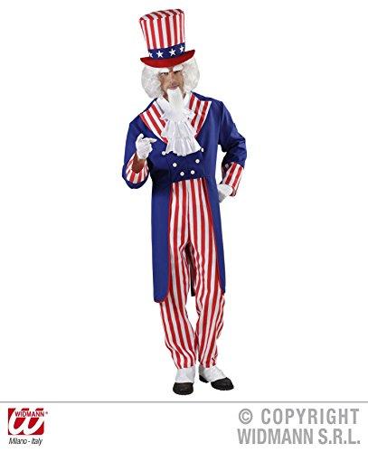 Widmann - Erwachsenenkostüm Onkel - Uncle Sam Für Erwachsene Herren Kostüm