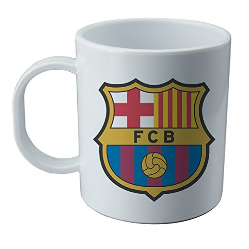 Taza y pegatina del Barcelona