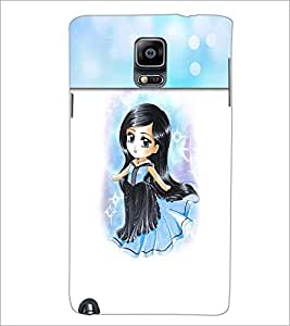 PrintDhaba Sweet Girl D-4199 Back Case Cover for SAMSUNG GALAXY NOTE 3 (Multi-Coloured)