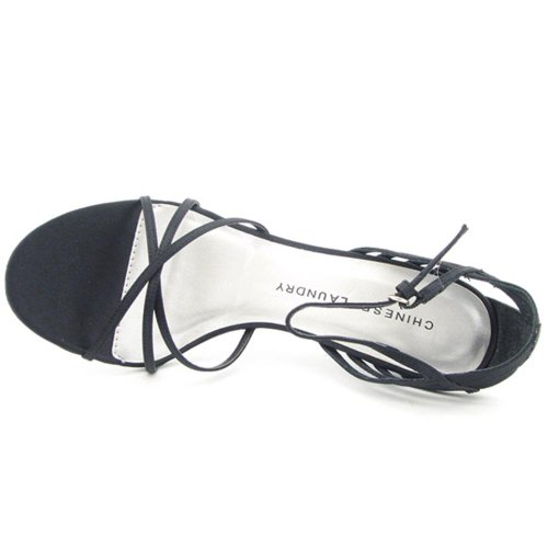 Chinese Laundry Wesley Femmes Toile Chaussures Pompes Black