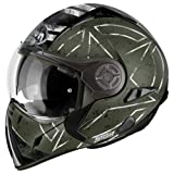Airoh Casco para motociclista, color Verde (Command Verde), talla 56-S