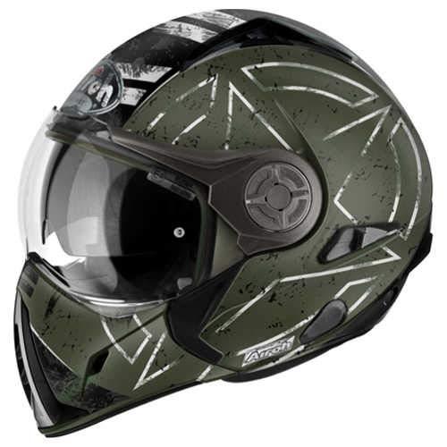 Airoh Casco para motociclista, color Verde (Command Verde), talla 62-XL
