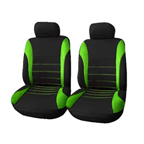 Heaviesk 4 Teile/Satz Auto Sitzbezug Seat Protector Komfortable Staubdichte Kopfstützenbezüge Vordersitzbezüge Universal für Auto Autos (Sitzbezüge Auto Protector)