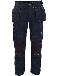 """Mascot Handwerkerhose """"Almada"""" Größe L82cm/C56, 1 Stück, schwarz / blau, 06231-010-010-82C56"""