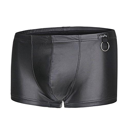 """Homme Sous-vêtements Boxers en Cuir artificiel (M 32""""-34"""")"""