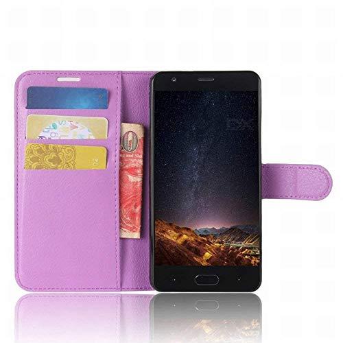 GZ Doogee X20 / Doogee X20L Premium Geldbörse Hülle Aus Leder Mit Flip-Cover Aus Leder Mit Magnetverschluss Für Doogee X20 / Doogee X20L Smartphone,Lila,1