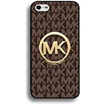 MK Michael Kors Logo – Carcasa, Michael Kors marca con tapa Funda Carcasa para iPhone 6/6S (4.7pouce), compatible con iPhone 6, color multicolor
