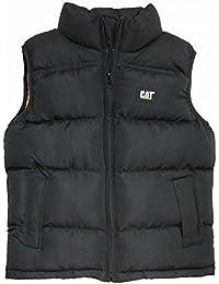 CAT Caterpillar Unisex Toddler Puffy Vest Bodywarmer Jacket