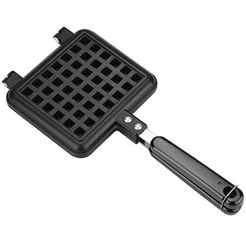 Waffelform Gussaluminiumbasis Herd Belgien Waffeleisen Haushalt Küche Gas Antihaft Waffel Backform Pressplatte Backwerkzeug