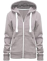 in stock 1fac4 315df Urban Diva Ladies Girl WomensNEW Plus Size Zip up Sweatshirt Hooded Hoodie  Coat Jacket Top UK