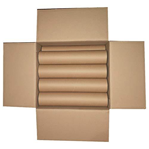 12 tubi di in cartone resistenti per spedizione con tappi 35 x 7 cm disegni fogli poster stampe A4 A3 spedizioni
