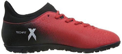 adidas Herren X 16.3 Tf Fußballschuhe Rot (Red/ftwr White/core Black)
