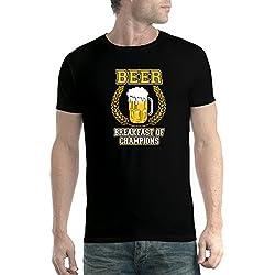 Camiseta temática De Cerveza Breakfast Of Champions