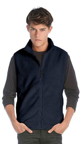 B&C - Bodywarmer Fleece Charcoal