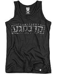 Krav Maga Tank Top. Vest. Israel Combat System. Thumbsdown Last Fight. Gladiator Bloodline. Martial Arts. Fightwear. Training. Casual. Gym. MMA T-shirt