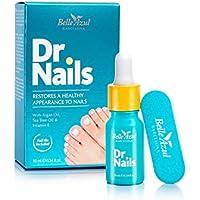 Belle Azul – Dr.Nails – Tratamiento rápido y eficaz Anti-Hongos para uñas – 10ML - Contiene Aceite de Argán Orgánico Puro – Para unas uñas saludables de nuevo