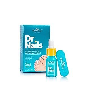 Belle Azul Dr. Nails – Réparateur et Antibactérien pour les ongles. Antifongique efficace contre la mycose des ongles 10ml