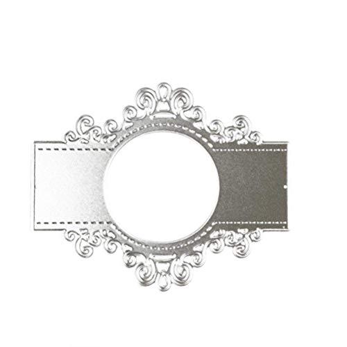 Fliyeong Premium Qualität Blume Brief Metall Stanzformen für DIY Scrapbooking Karten Handwerk Kunst Europäischen Spiegel -