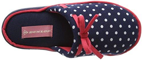 Dunlop Freesia, Chaussons femme Bleu - Bleu (Bleu marine)