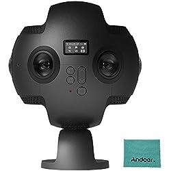 Insta360 Pro 8k 360 ° VR Caméra Vidéo 4 k 100fps Slow Motion Anti-shake avec étui de transport