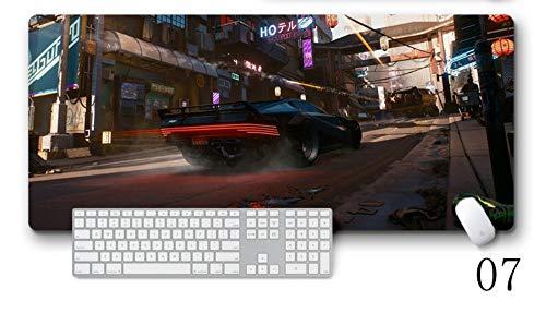 IGZNB Almohadilla para Teclado Fresca Cyberpunk 2077 Speed   Gaming Mo