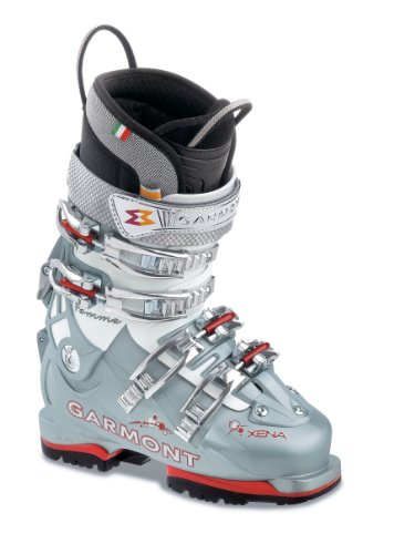 Garmont Frauen Xena Ski-Boot, Blue Pearl/White
