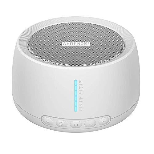 Máquina de terapia de sonido NOUDOO Máquina de sonido de ruido blanco...