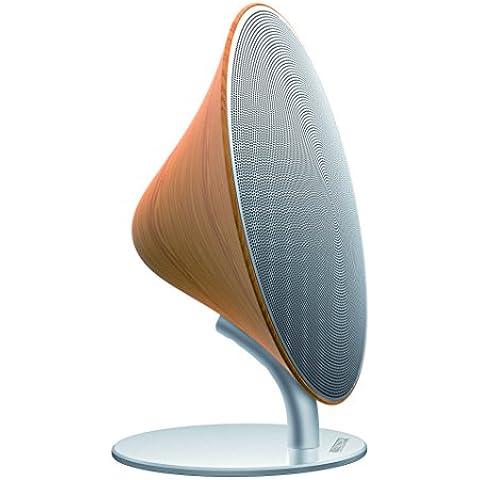 Altec Lansing Sunlight 10W Plata, Madera - Altavoces (Piso, Mesa/estante, Inalámbrico, Bluetooth/NFC, Bluetooth, Plata, Madera,