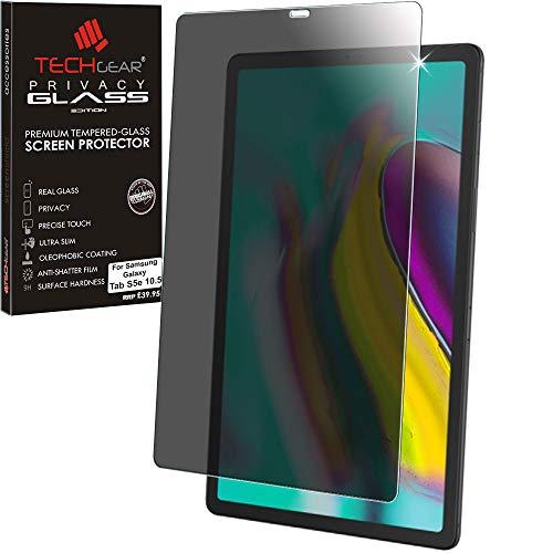 vatsphäre Panzerglas für Galaxy Tab S5e 10,5 (SM-T720 / SM-T725 Serie) - Privacy Panzerglas Displayschutzfolie aus gehärtetem Glas Kompatibel mit Samsung Galaxy Tab S5e 10,5 2019 ()