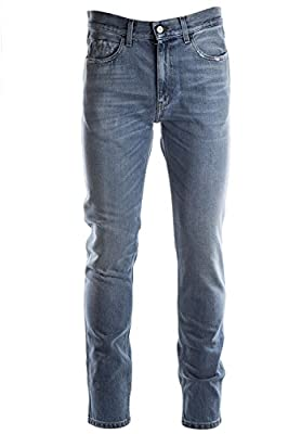 Gucci men's jeans denim blu