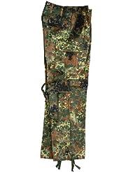 Leo carbonero original BW comando pantalones de camuflaje, todo el año, color Varios colores - camuflaje, tamaño BW 8 (Ziv. Gr. 50)