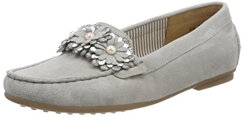 Gabor Shoes Damen Casual Slipper, Grau (Stone/Silber), 39 EU