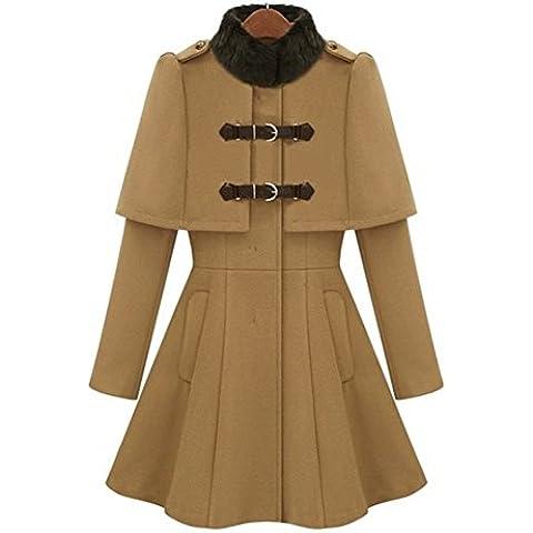 MIUCOO - Abrigo - capa - para mujer