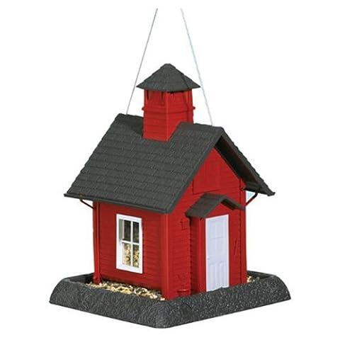 Nord-Staaten Lil Red School House Dorf Sammlung Bird Feeder