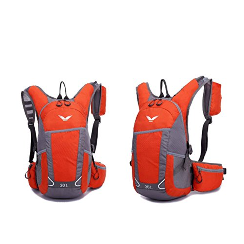 Il nuovo ultra-light esterna impermeabile uomini e le donne che guidano lo zaino 30L zaino, escursioni sportive zaino arancione