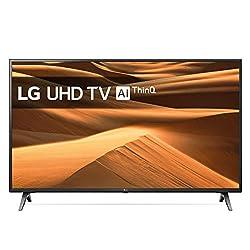 LG 49UM71007LB 123 cm (49 Zoll) Fernseher (UHD, Triple Tuner, 4K Active HDR, Smart TV)