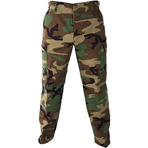Propper Pantalones Hombres L Uniforme Reg Tamaño Woodland Bdu QrsCxothdB