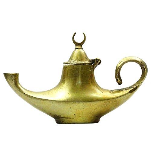 Messing Schöne traditionellen Gold Ton Lampen Chirag Metallkunst Heim Tabelle Décor