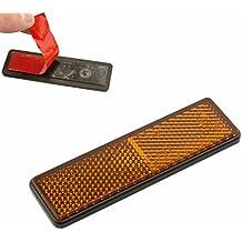 V PARTS - Reflex reflector catadioptrico rectangular con adhesivo Ambar - 11751