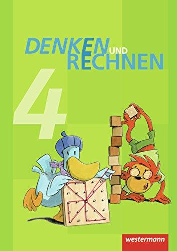 Preisvergleich Produktbild Denken und Rechnen - Ausgabe 2011 für Grundschulen in Hamburg, Bremen, Hessen, Niedersachsen, Nordrhein-Westfalen, Rheinland-Pfalz, Saarland und Schleswig-Holstein: Schülerband 4