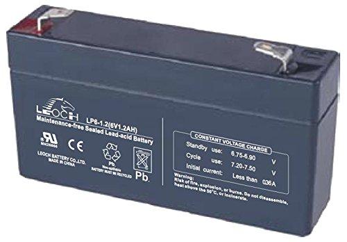 Batterie Leoch DJW6-12 T2 6V 12Ah UPS Ce Produit est Un Article de Remplacement de la Marque AJC/®