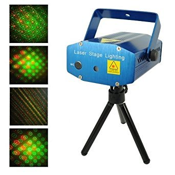 Maxxlite Multi Pattern Sound Activated Laser Light Mini Disco Light Projector Light Stage Lighting For Party & Dance  available at amazon for Rs.999