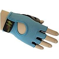 Guantes de jardineria Malla medio dedo guantes de ciclismo Guantes ciclismo Guantes antideslizante guantes de ciclismo Guantes de protección UV verano para hombres mujeres (XL) para trabajar al aire