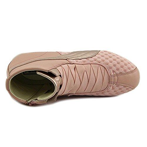 Puma Eskiva Mid L&M Toile Baskets Coral Cloud Pink-Star White