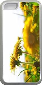Dandelions on Grass Design iPhone 5c Case Cover (Clear Rubber with bumper protection) for Apple iPhone 5c sell on Zeng case