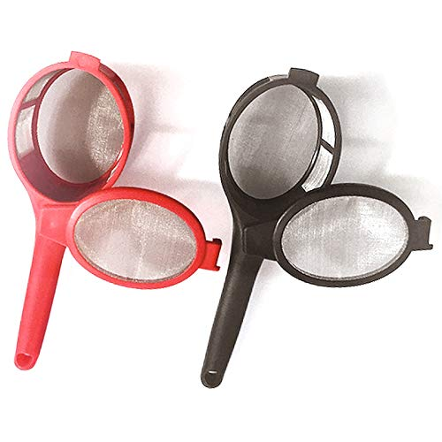 Burwells 2 x Loose Leaf Tea or Coffee Infuser/Strainer or Herbal Tea Filter - Diffuser for Single Mug/Cup