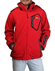 Giacche Uomo Geographical Norway Tsunami_man_red Rosso