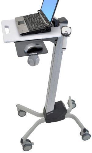 Ergotron 24-205-214 Neo-Flex Laptop-Wagen Silber/schwarz (Ergonomische Computer-cart)