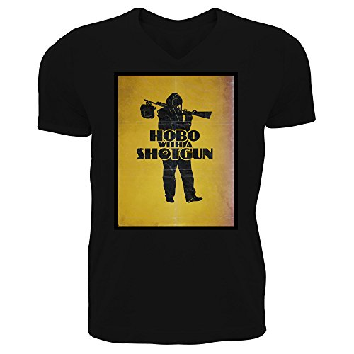 hobo-with-a-shotgun-movie-poster-mens-v-neck-t-shirt-large